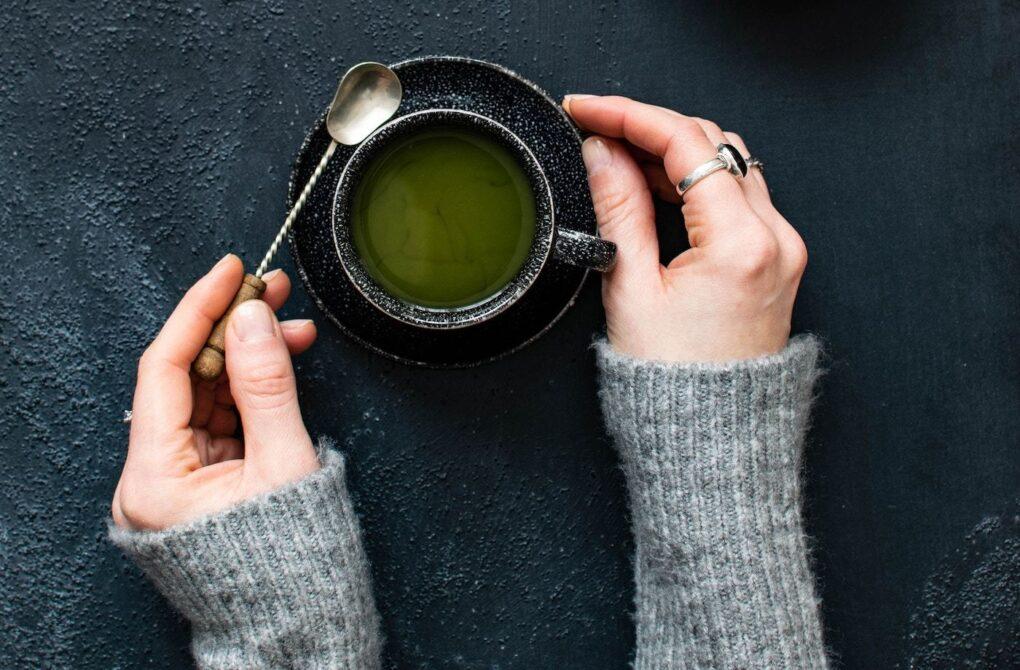 bebe té verde